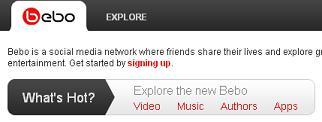 Компания AOL установила контроль над социальной сетью Bebo