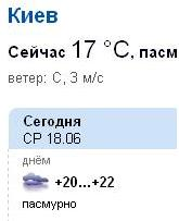 погода от weather.i.ua