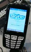 Skype начинает работать с мобильными телефонами