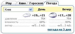 погода от www.ukr.net/weather/